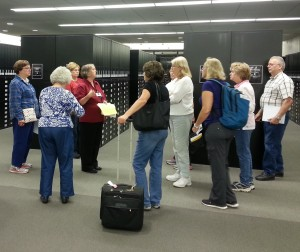 Genealogy Center librarians provide tours to groups of 10 or more when scheduled in advance.