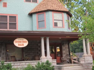 Sit a spell at Chestnut House Bed & Breakfast Inn in Winona Lake.