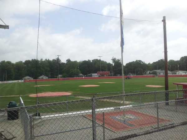 Gil Hodges Field. Hodges played here in 1941.