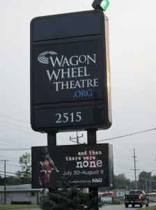 Wagon Wheel Theatre in Warsaw offers high-quality shows.