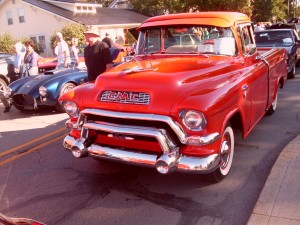 The Antique Car Parade draws enthusiasts of all ages.
