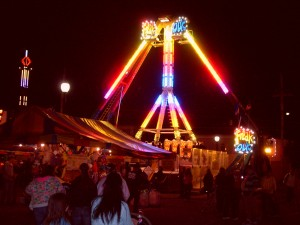 Bluffton Free Street Fair offers plethora of carnival rides.