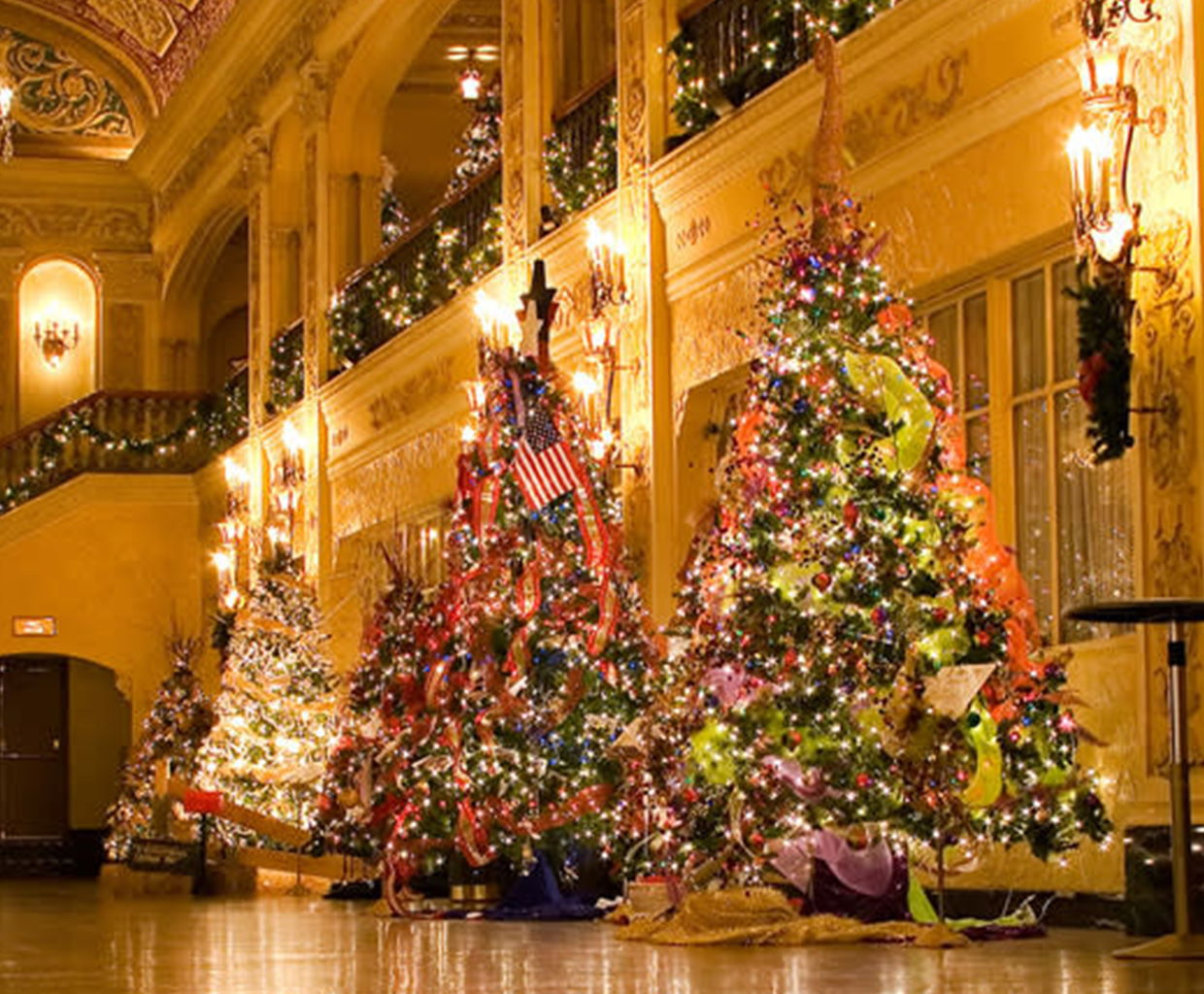 Festival of Trees at the Embassy Theatre in Fort Wayne