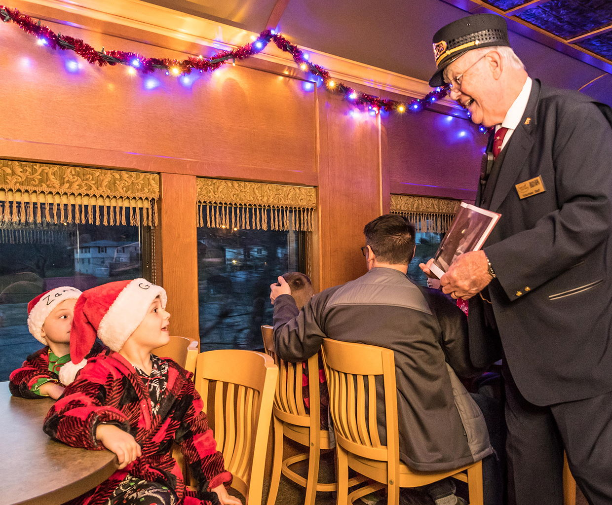 The Polar Express Train Ride on the French Lick Scenic Railway