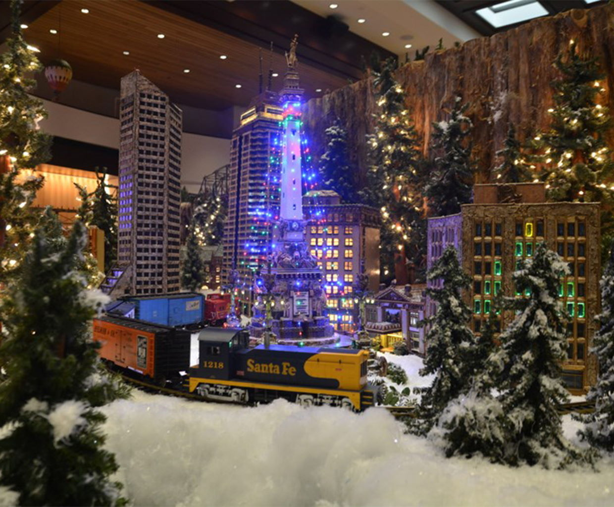 Jingle Rails at The Eiteljorg Museum in Indianapolis