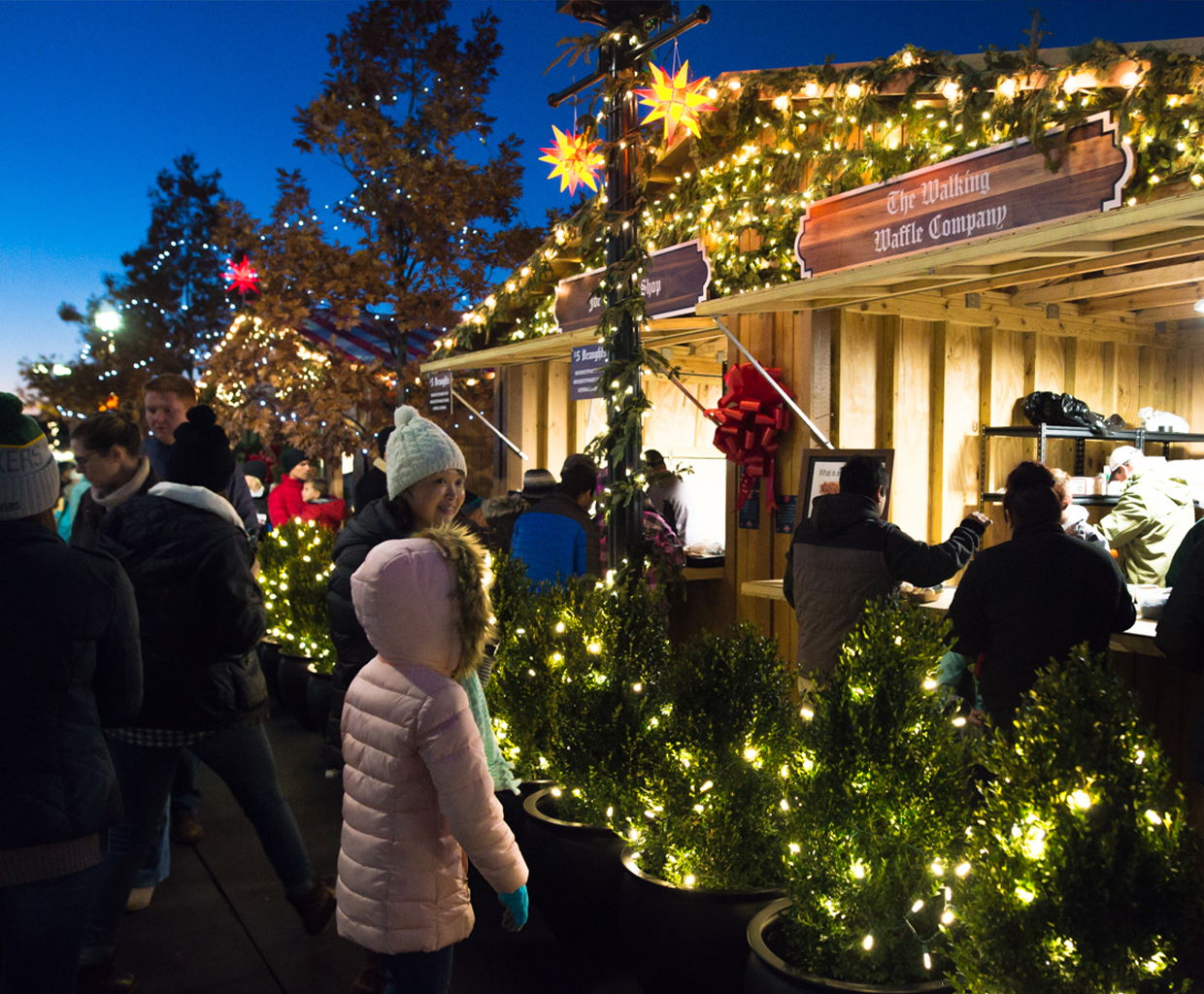 Christkindlmarkt in Carmel